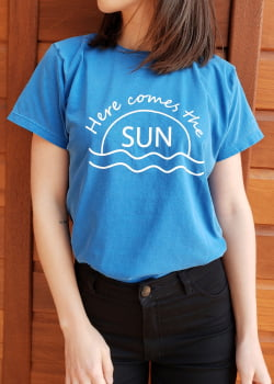T-SHIRT COMES THE SUN